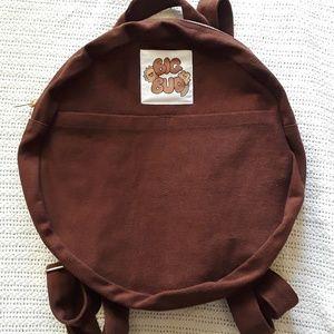 Big Bud Press circle backpack